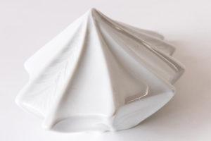 vase design vegetal alocasia jungle blanc porcelaine latelierdublanc 4