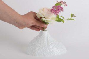 vase soliflore bulbe relief brillant porcelaine de limoges latelierdublanc 2