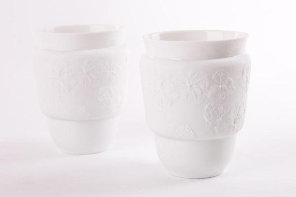 art de la table tasse anti chaleur porcelaine de limoges latelierdublanc
