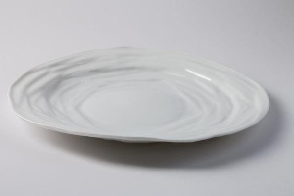 assiette plate art de la table porcelaine de limoges latelierdublanc