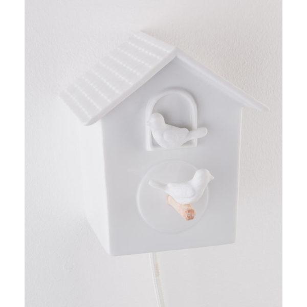 cabane a oiseau luminaire porcelaine de limoges deco interieur lampe design latelierdublanc 2
