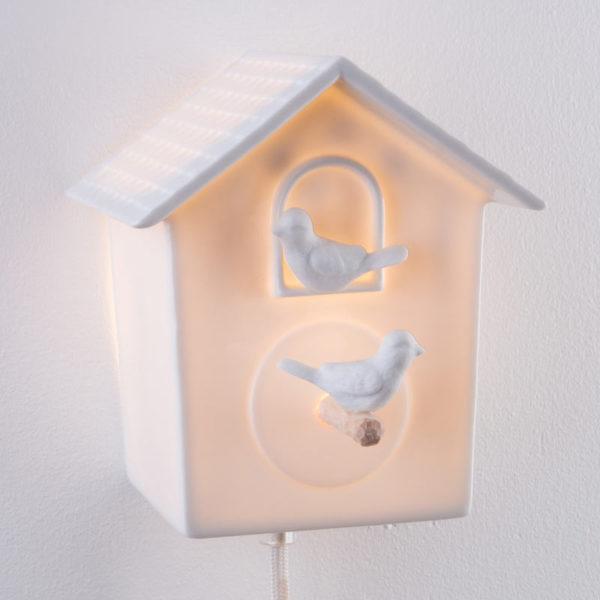 cabane a oiseau luminaire porcelaine de limoges deco interieur lampe design latelierdublanc 4
