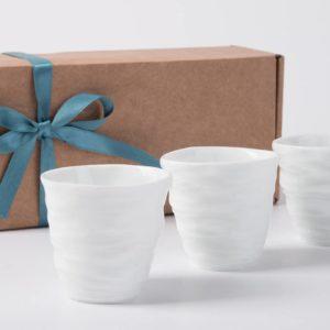 coffret tasse cafe gobelet expresso porcelaine de limoges latelierdublanc