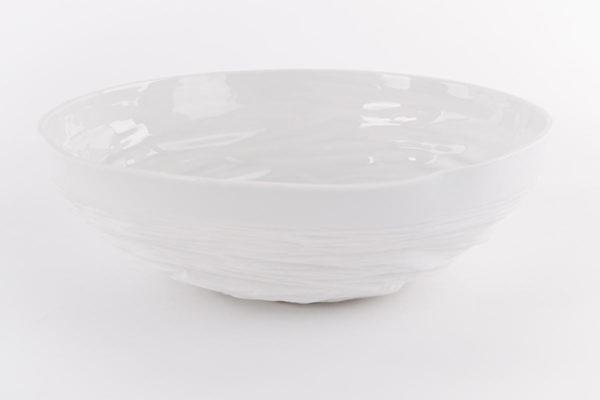 coupe saladier vasque porcelaine de limoges latelierdublanc 1