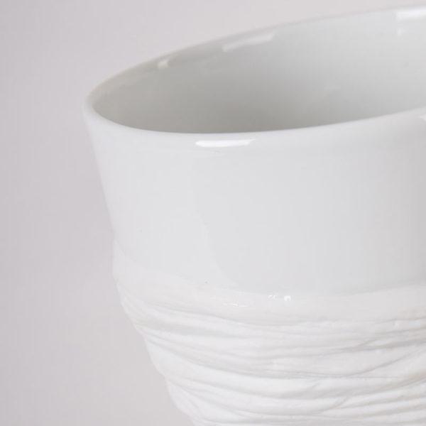 grand vase haut porcelaine de limoges blanche paradoxe latelierdublanc 4