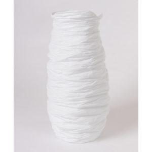 grand vase haut taille L porcelaine de limoges blanche paradoxe latelierdublanc 1