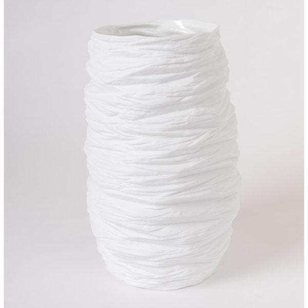 grand vase haut taille M porcelaine de limoges blanche paradoxe latelierdublanc 2
