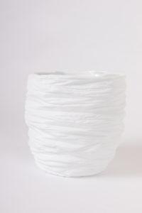 grand vase large ouverture taille S porcelaine de limoges blanche paradoxe latelierdublanc 3