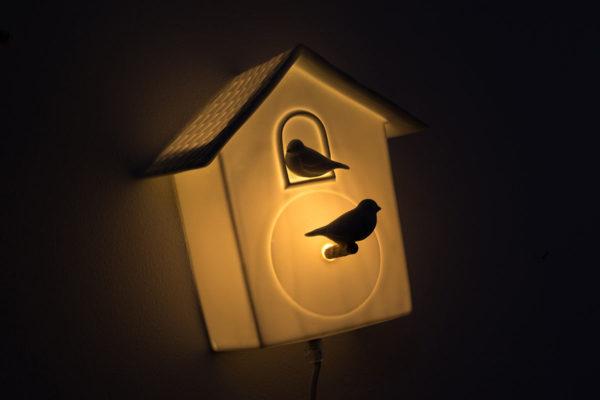 lampe interupteur veilleuse chambre enfant cabane oiseau coucou latelierdublanc