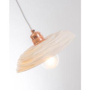 luminaire cuisine porcelaine de limoges plafonnier suspension vintage cuivre latelierdublanc