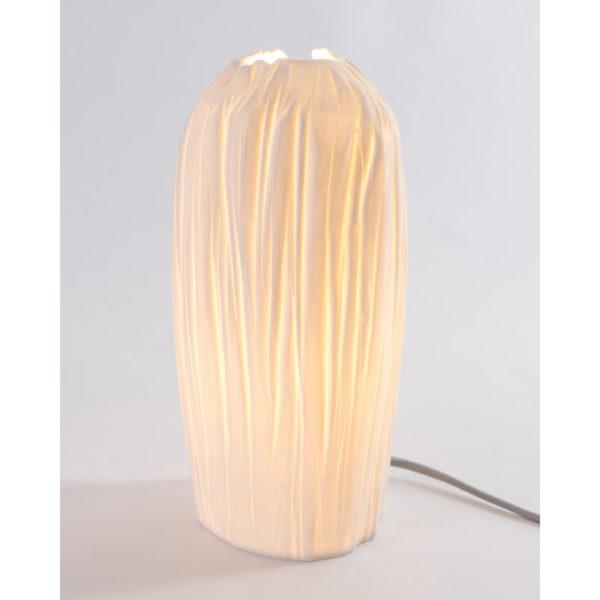 luminaire design porcelaine de limoges lampe tige latelierdublanc 2