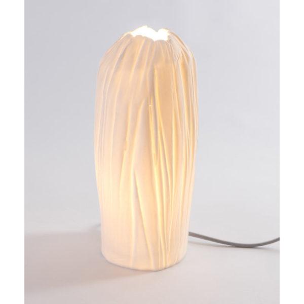luminaire design porcelaine de limoges lampe tige latelierdublanc 3