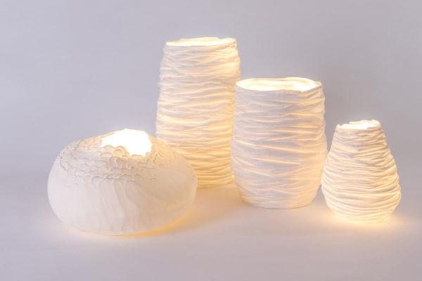luminaire lampe chevet porcelaine de limoges biscuit ecaille latelierdublanc 3