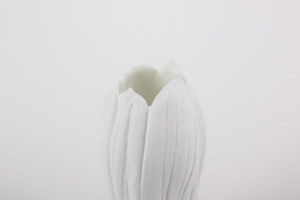 petit vase fleur porcelaine piece unique latelier du blanc
