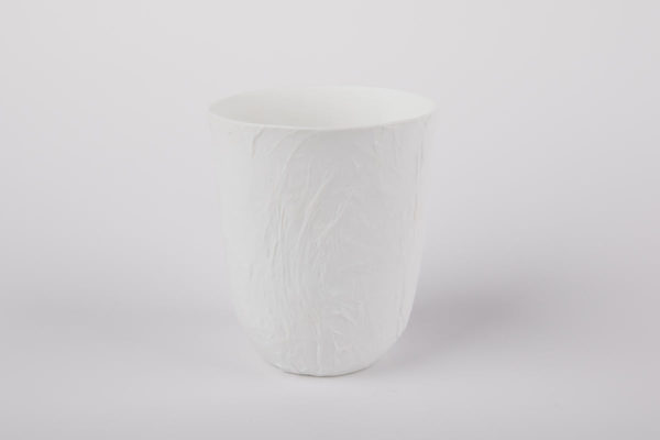 photophore papier gobelet porcelaine de limoges l atelier du blanc