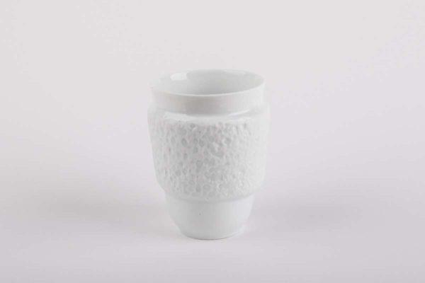 tasse anti chaleur porcelaine de limoges latelier du blanc