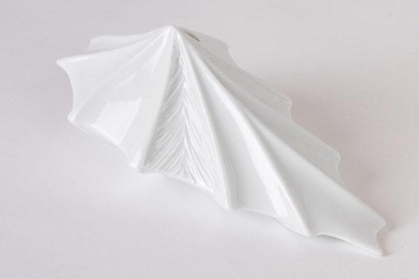 vase design vegetal alocasia jungle blanc porcelaine latelierdublanc 3