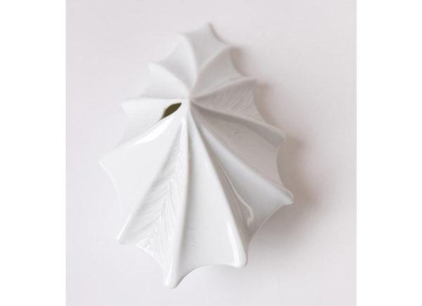 vase design vegetal alocasia jungle blanc porcelaine latelierdublanc 8 1