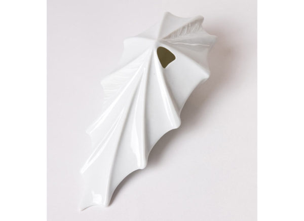 vase design vegetal alocasia jungle blanc porcelaine latelierdublanc 8