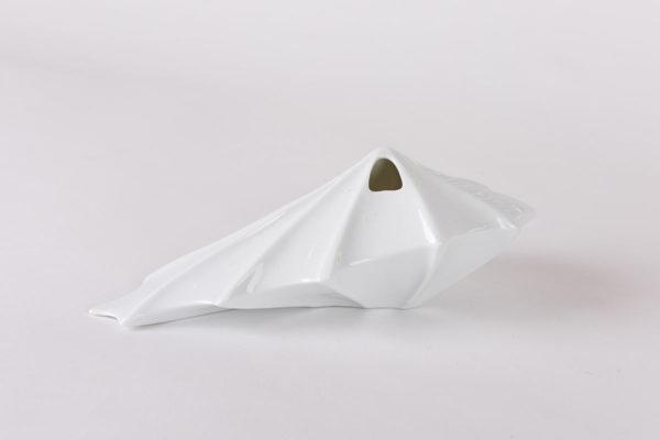 vase design vegetal alocasia jungle blanc porcelaine latelierdublanc2