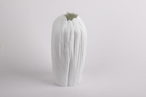 vase haut etroit grand blanc l atelier du blanc