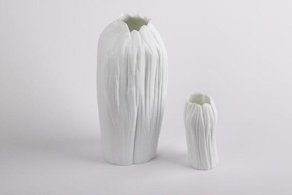 vase haut etroit petit grand blanc l atelier du blanc