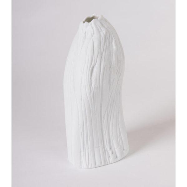 vase porcelaine blanche vrille soliflore latelierdublanc 3