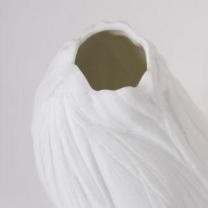 vase porcelaine blanche vrille soliflore latelierdublanc 6