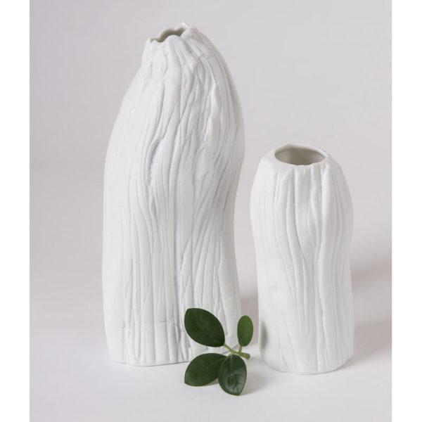 vase porcelaine tige petit modele vase vrille vÚgÚtal latelierdublanc 1