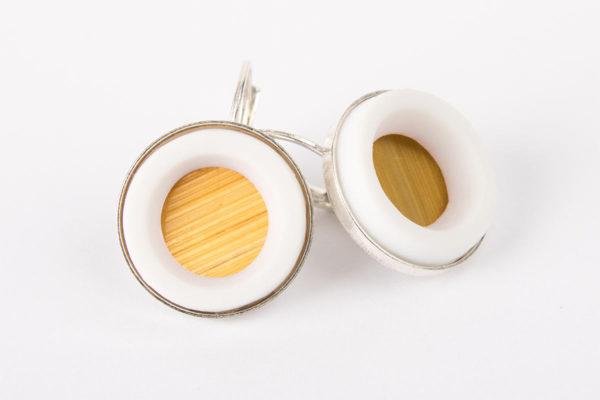 boucles-d-oreilles-rondes-fermoir-dormeuse-argent-blanc-jaune-moutarde-latelier-du-blanc