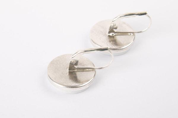 crochet-boucle-oreille-dormeuse-ronde-plate-argent-925